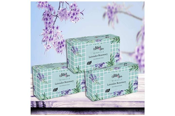 Mirah Belle Lavender Rosemary Anti Blemish Soap