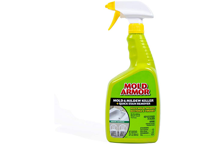 Mold Armor FG502 Mold And Mildew Killer + Quick Stain Remover