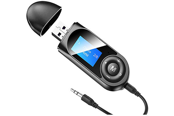 Pagaria 2-in-1 LCD Display Bluetooth 5.0 Transmitter Receiver