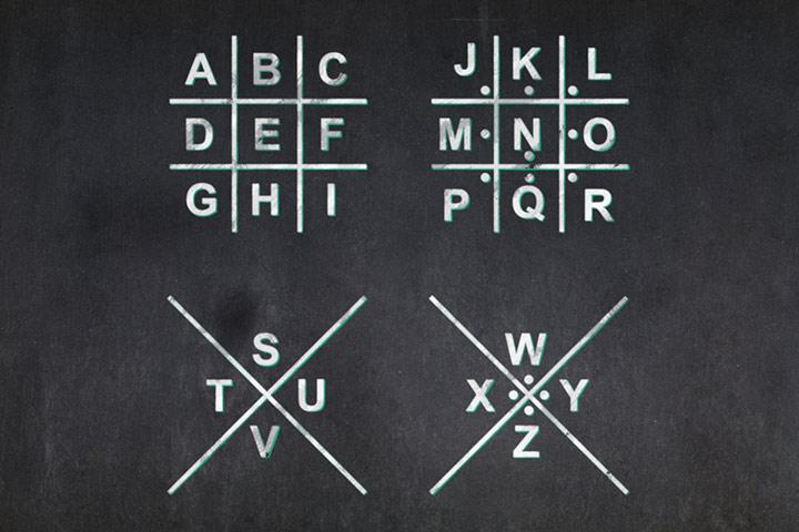 Pigpen cipher