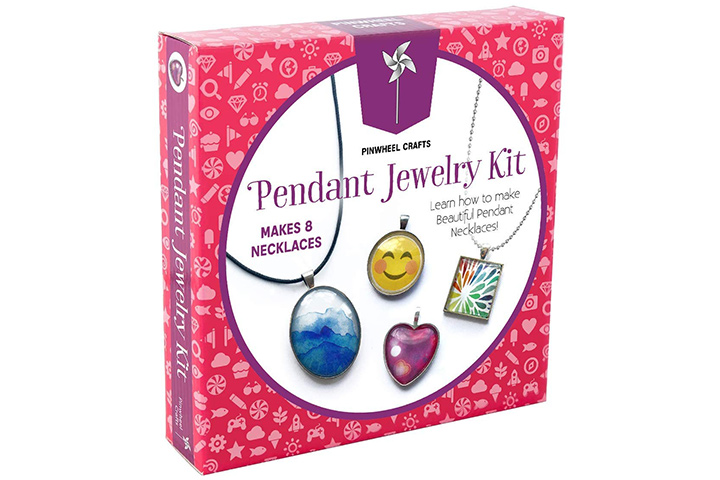 Pinwheel Crafts Jewelry Making Kit for Girls