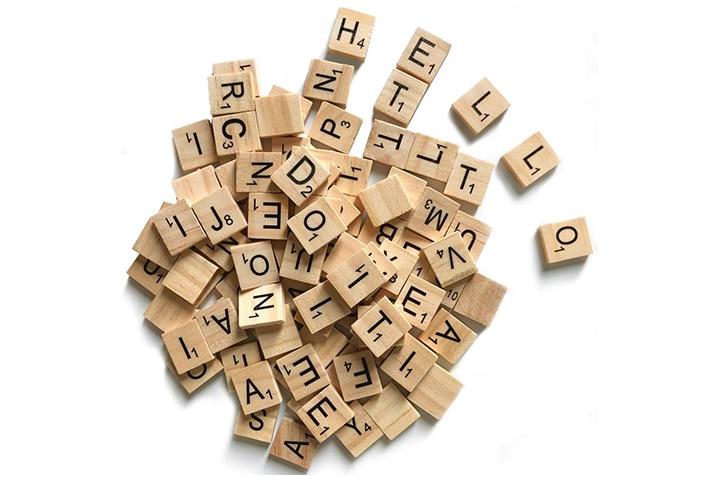 Qmet 500 Wood Letter Tiles