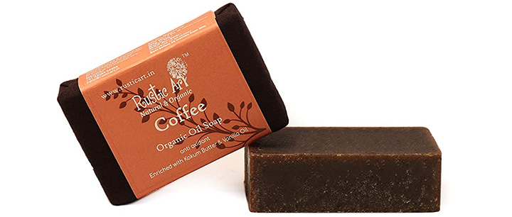 Rustic Art Organic And Natural Coffee Soap