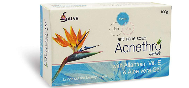 Salve Acnethro Anti Acne Soap