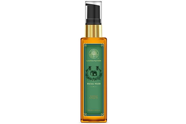 Sandalwood And Orange Peel Facial Cleanser