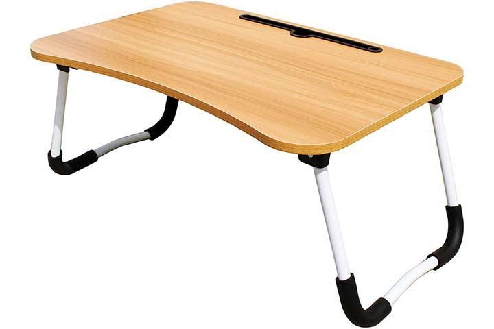 Savya Home Multipurpose Laptop Table With Drawer