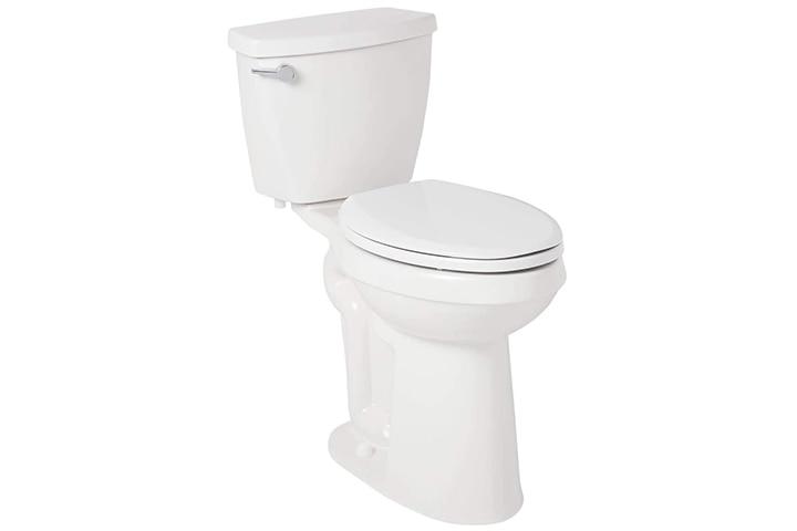Signature Hardware Elongated Toilet