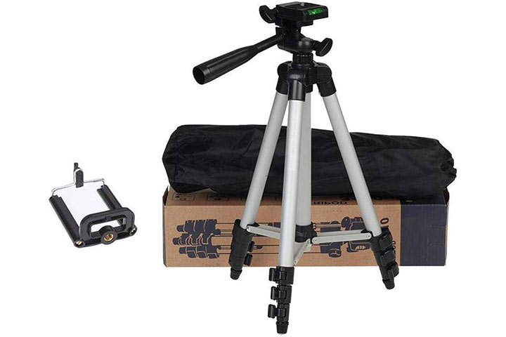 Sketchfab 3110 Portable And Foldable Tripod With Mobile Clip