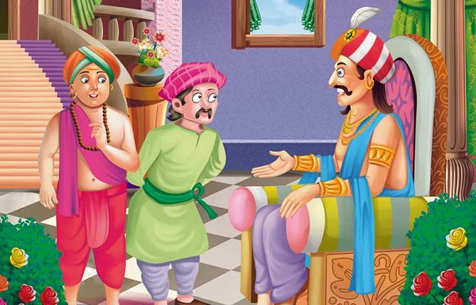 Tenali Raman ka Nyay Story in hindi