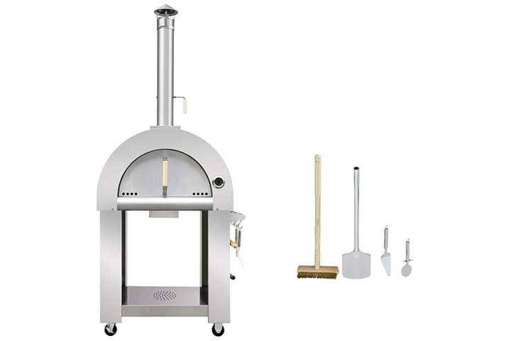 Thor Wood Fired Stainless Steel Artisan Pizza Oven