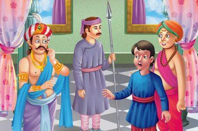 तेनाली रामा की कहानियां: उबासी की सजा   Ubasi Ki Saja Tenali Raman Story in Hindi