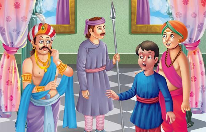 Ubasi Ki Saja Tenali Raman Story in Hindi