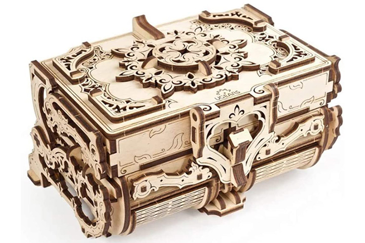 Ugears 3D Wooden Puzzle Box