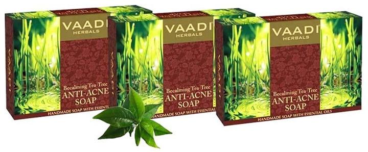 Vaadi Herbals Becalming Tea Tree Anti-Acne Soap