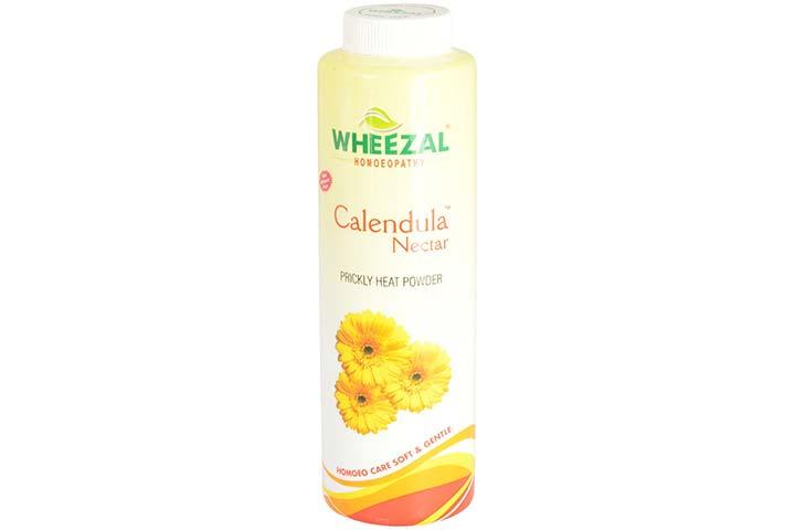 Wheezal Calendula Nectar Prickly Heat Powder