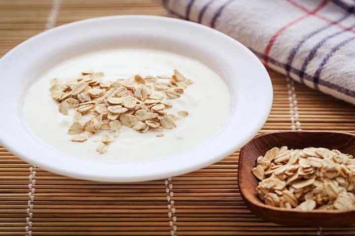 dahi-oats