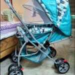 Tiffy & Toffee Smart and Safe Baby Stroller-Double wheel stroller-By purvesh_jay_chithore
