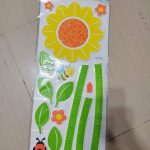 Babies Bloom Floral Growth Chart for Growing Babies-Color full-By ncc