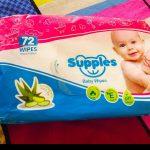 Supples Baby Wet Wipes with Aloe Vera and Vitamin E-Best aloe wipes-By v_swastik_kumar
