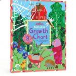 eeBoo Making the Garden Growth Chart-Amazing growth chart-By v_swastik_kumar