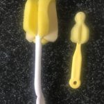 SYGA Baby Milk Bottle Nipple Straw Brush-Cleans all dirt and saves time-By purvesh_jay_chithore