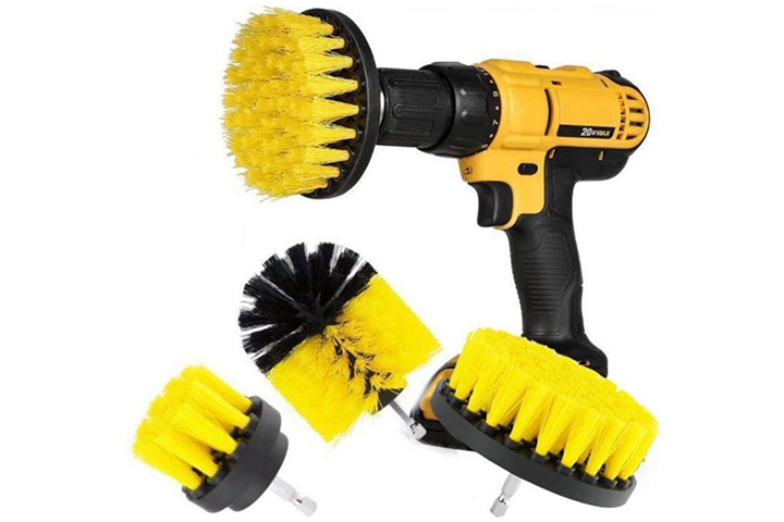 Lumpna 3 Pcs Drill Brush Attachment Kit