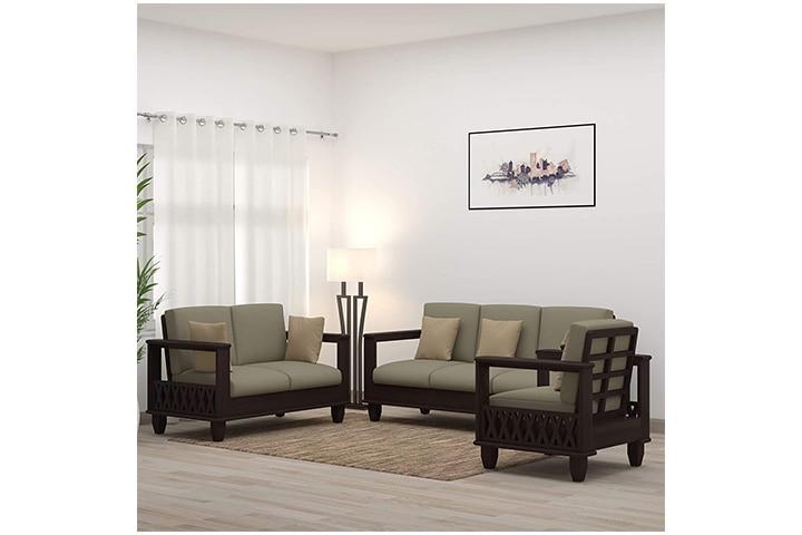 Mamta Decoration Solid Sheesham Wood Sofa