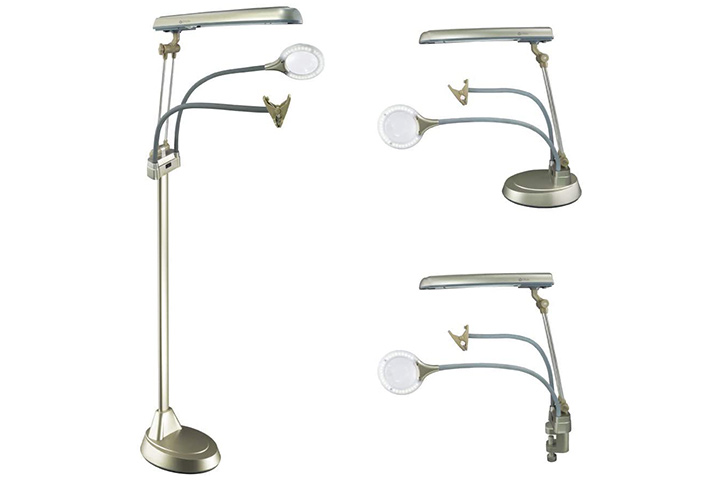 Ottlite 24 W Ultimate 3-In-1 Craft Lamp