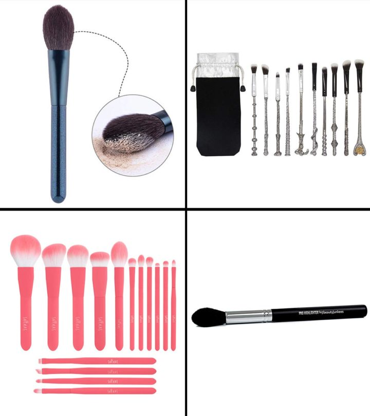 11 Best Brushes To Apply Highlighter In 2021