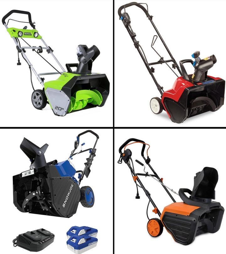 11 Best Electric Snow Blowers To Buy In 2021