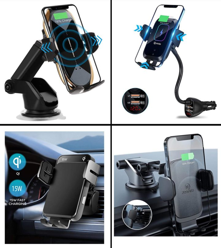11 Best Wireless Car Charger Mounts In 2021