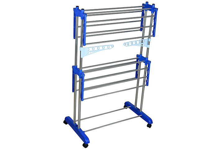 Mega Stainless Steel Cloth-Drying Stand