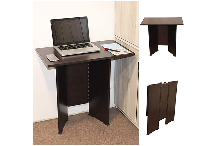 Spacecrafts Work from Home Folding Computer Table