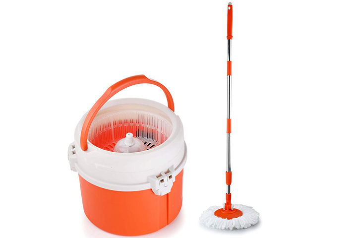 Sparkmate By Crystal Compact Spin Mop