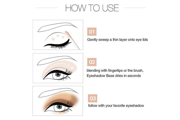 Meis Cosmetics Smudge-Proof Eyeshadow Base