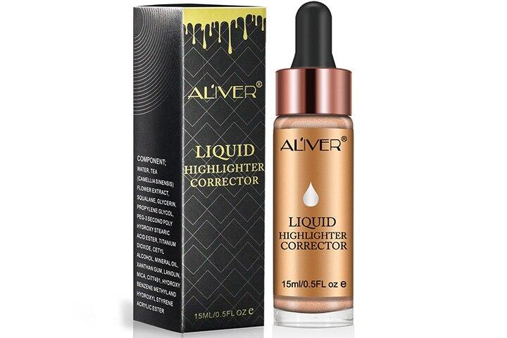 Aliver Contour Makeup Glitter Liquid Highlighter