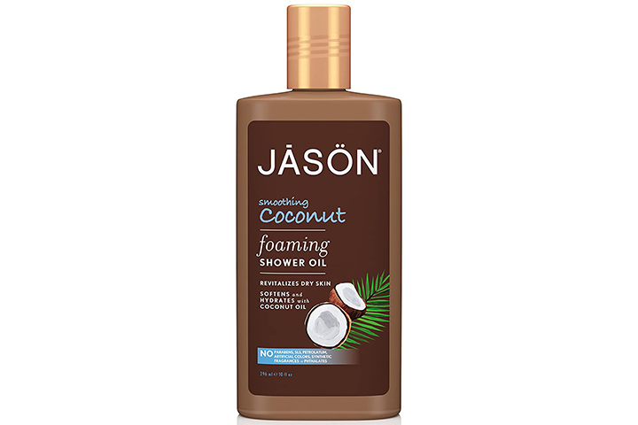 Jason Smoothing Coconut Foaming Shower Oil