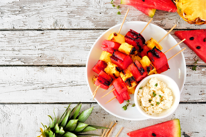 Fruit barbeque