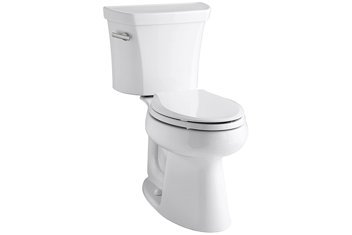 Kohler's Non-Clogging Toilet
