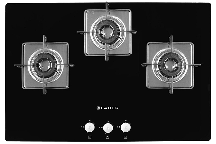 Faber Hob Top with Black Glass