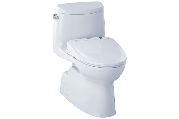 TOTO Carlyle II One-Piece Elongated Toilet And WASHLET S300e