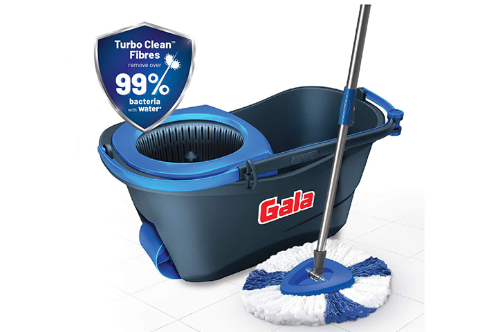 Gala Turbo Spin Mop With Bucket