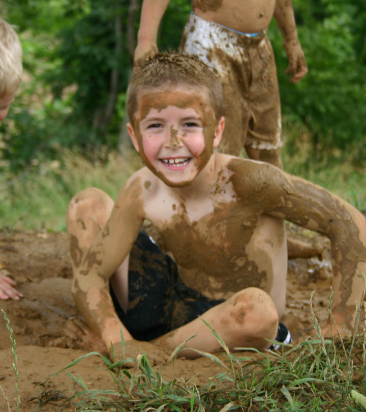 6 Reasons Why Playing In Mud Is Beneficial For Kids