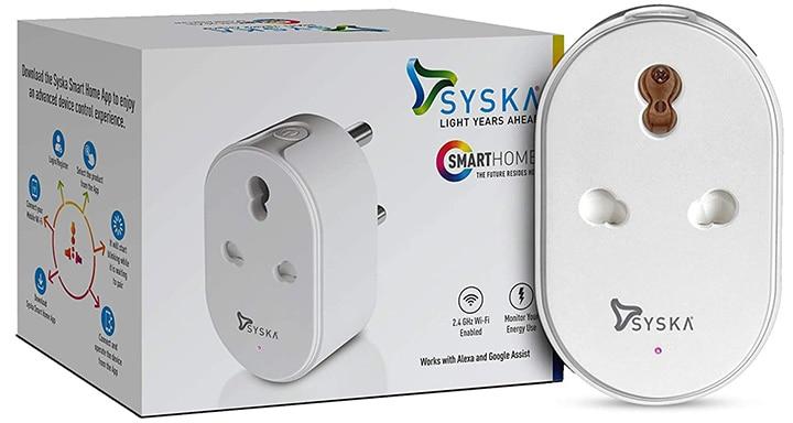 Syska Smart Mini Wi-Fi Plug