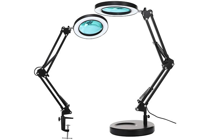 Kirkas Magnifier Desk Lamp