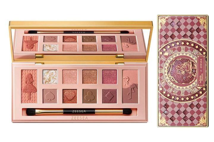 ZEESEA X The British Medium Eyeshadow Palette - Flamingo
