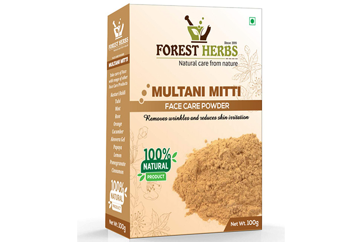 Forest Herbs Natural Multani Mitti Powder