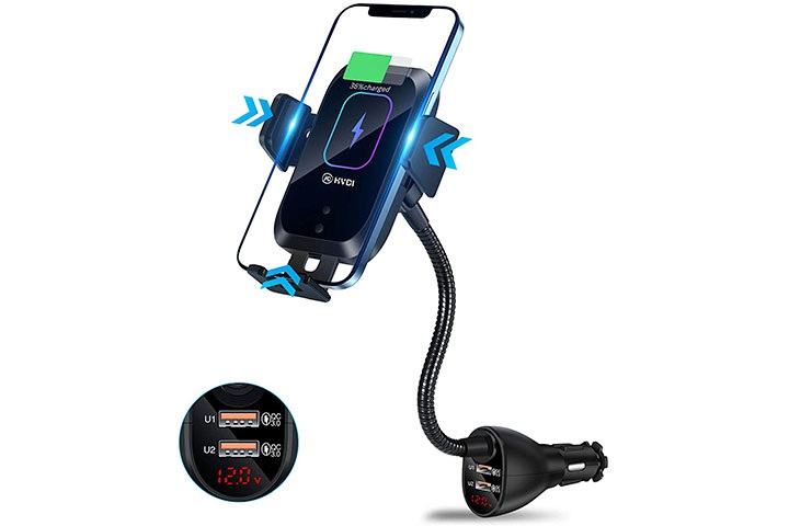 HVDI Wireless Car Charger Mount
