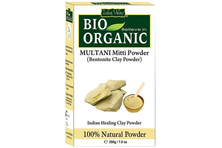 Indus Valley Bio Organic Bentonite Clay Multani Mitti Powder