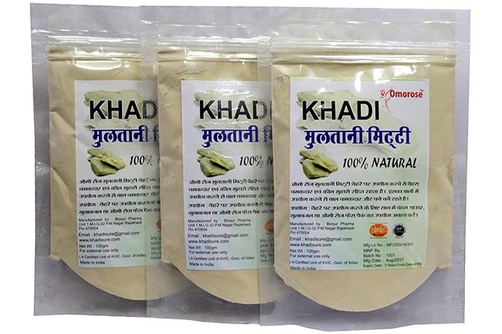 Khadi Omorose Multani Mitti For Face And Hair